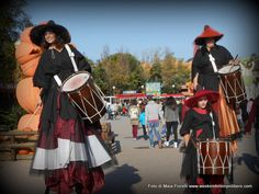 Gardaland Magic Halloween: streghe di diverse taglie