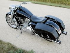 Tobin Jansenberger's Custom 2000 Harley Davidson Road King