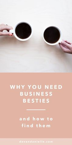 "Feeling alone as a solopreneur? Why You need Business Besties and How to Find Them by Devan Danielle — We all have our moments. Those moments of self doubt and overwhelm. Those moments of ""What the heck am I doing?"" and ""Why in the world did I think I could do this again?"" That's where your business besties swoop in and save the day. Read more now on the blog!"