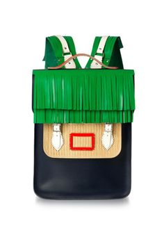 Christopher Shannon for Cambridge Satchel Backpack, available at Opening Ceremony this spring. Refinery29