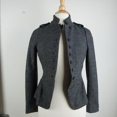 Zara Wool Structured Coat Used in Excellent Condition No Trades No PayPal Zara Jackets & Coats