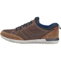 Sportive s.Oliver Freizeit Schuhe aus mehrlagig, robustem Obermaterial. Die gepolsterten Schaftkanten erhöhen den Tragekomfort.<br /> <br /> - Verschluss: Schnürung<br /> - vorgeformte Decksohle<br /> - rutschhemmende Laufsohle<br /> <br /> Obermaterial: Leder<br /> Futter: Textil<br /> Decksohle: Leder, Textil (Materialmix)<br /> Laufsohle: sonstiges Material (Gummi)