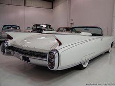 #7. 1960 Cadillac Eldorado Biarritz convertible. Cadillac style, bee-otch!