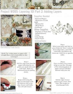 Layering Tutorial 101 Part 2 by Franck Garcia using Prima Products and the Nature Garden Collection by Jodie Lee.
