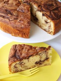 Notburga konyhája: Körtés-mogyoró-nugátos sütemény/Birnen-Nuss-Nougat Kuchen Hungarian Recipes, Hungarian Food, Nutella, Banana Bread, French Toast, Sandwiches, Breakfast, Desserts, Foods