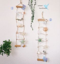 *お一つの価格です。 写真1の販売になります。*麻紐と木のはしごのタペストリーに パール、貝殻、あじさいプリザ、かすみ草、モスなどを飾りました。 淡い水色と白、生成り色でまとめたやさしいナチュラルカラー。 本物の貝殻が夏にぴったりです。 *サイズ/全長 約50cmブログhttp://ameblo.jp/handmade-bluebird/instagram aoitori_handmadeどうぞよろしくお願い致しますm(_ _)m