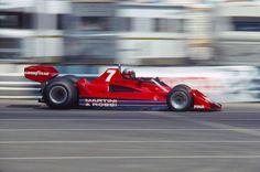 John Watson, Martini Brabham BT45B-Alfa Romero, #7, (DSQ), US GP, Long Beach, 1977.