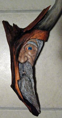 Wood Carving ... 'gain as my previous comment!!! Artists that use what Nature leaves for us ... Beautiful!! :)