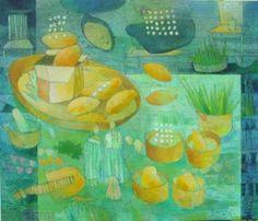 """Saatchi Art Artist Armin Liebscher; Painting, """"cafe salam"""" #art"""