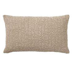 Honeycomb Lumbar Pillow Cover, Driftwood at Pottery Barn Outdoor Throw Pillows, Accent Pillows, Decorative Throw Pillows, Pottery Barn, Applique Pillows, Honeycomb Pattern, Linen Pillows, Cushions, Lumbar Pillow