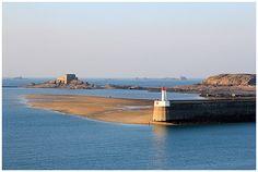 Le môle des noires à Saint Malo