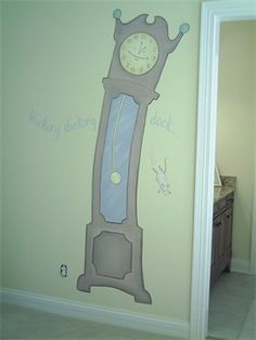clock - Again, future baby's room, this reminds me of Tim Burton for some reason