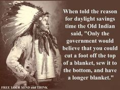 That is my opinion on daylight savings time.