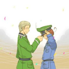 Hetalia- Germany and Italy WHY AM I CRYING Oh th just finished hetaoni after that This is so FUCKING SAD T_T
