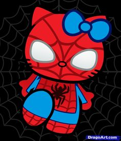 Hello Spider man Kitty