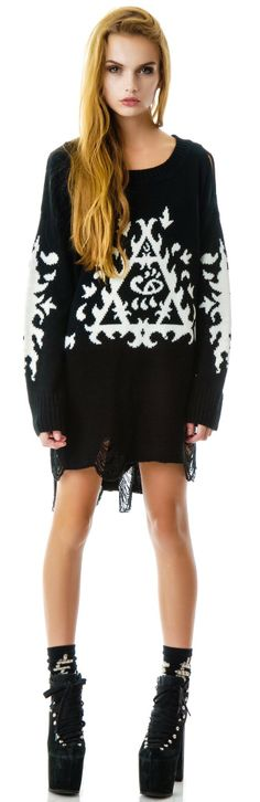 #UNIF Ornate #Sweater