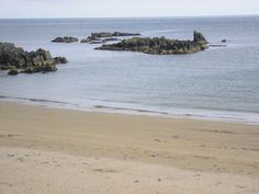 Stroove Beach is located on the east coast of the Inishowen peninsula in County Donegal, Ireland.