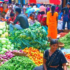 Market in southern India
