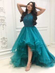 Organza with Beaded Bodice Halter High Low Prom Dress,Pageant Dress, Shop plus-sized prom dresses for curvy figures and plus-size party dresses. Ball gowns for prom in plus sizes and short plus-sized prom dresses for High Low Prom Dresses, Cute Prom Dresses, Tulle Prom Dress, Pageant Dresses, Dance Dresses, Homecoming Dresses, Pretty Dresses, Sexy Dresses, Formal Dresses