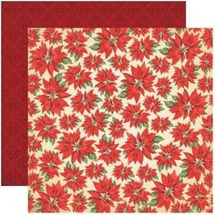 Reminisce Christmas Town Scrapbook Papers Set 4pc