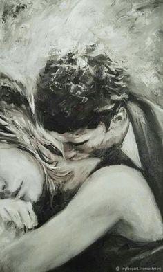 Couple drawings images for loving couple - page 4 of 4 - disqora art in 201 Couple Drawing Images, Couple Drawings, Love Drawings, Art Drawings, Art Amour, Kiss Art, Romance Art, Arte Sketchbook, Couple Art