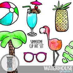 #summerclipart #digitalsummer #flamingo #flamingoclipart #cutesummergraphics #cutesummerclipart #digitaldownload #digital #clip #digitalclipart #pineapple #sunglasses #cocktailclipart #palmtree #beachpartyclipart