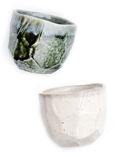 Faceted Boulder Cup