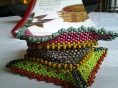 Beadwork by Helen Higgins