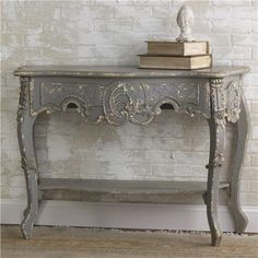 Great inspiration! Looks similar to Paris Grey Chalk Paint® decorative paint by Annie Sloan -- Shades of Light