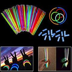 Amscan Super Party Yellow Plastic Glow Stick 12 Ct.