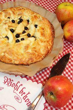Apfel-Galette // Apple-Galette