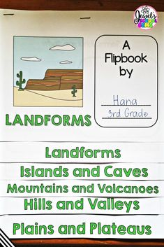 Are you teaching landforms for kids? Read about several ideas and resources you can use to teach landforms. Grab a FREE landforms word search as well! Teaching Kindergarten, Teaching Science, Life Science, Teaching Ideas, Science Lessons, Science Fun, Earth Science, Classroom Activities, Learning Activities