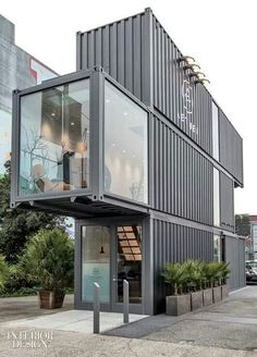 Container home..