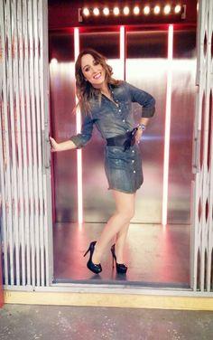 Espectacular María Lama con nuestros  stilettos  Encuentra el tuyo en ►  www.marypaz.com
