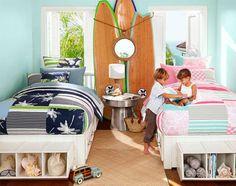 Inspirações e Dicas de Decoração para Quarto de Irmãos - Quarto de Irmãos - Irmãos - Decoração de Quarto de Criança - Quarto De Criança Decorado - Quarto Infantil - Quarto Lúdico - Quarto - Quarto de Menina e Menino - Kids Room - Mezanino Infantil - #BlogDecostore -