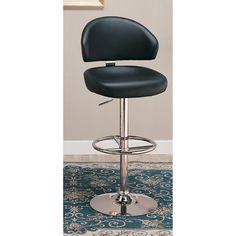 Coaster Furniture 39 in. Armless Adjustable Bar Stool - 120342