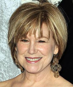 This is my next haircut!!!!  Love it!  Mary Kay Place - actress - 65 y/o