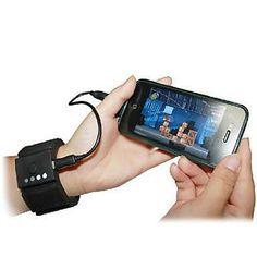 Wrist Phone Chargers #Miniinthebox #PhoneCharger #Tech http://www.trendhunter.com/