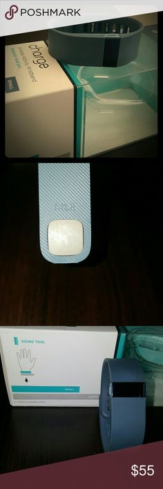 Fitbit Charge ? Activity Tracker ? Small ? Blue I used this Fitbit for two months. Nothing is wrong with it! I got the Fitbit Charge HR so I no longer need this one. It only has a few scratches on the squared grey part at the end of the watch. But other that that looks practically new! All of the originally packaging and parts are included! fitbit Accessories Watches