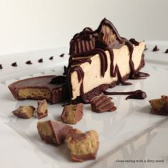 Paleo Reese's Cheesecake and 20 Paleo Dessert Recipes - MyNaturalFamily.com #paleo #dessert #recipes