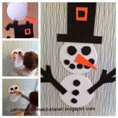 can ve cerenin oyun günlüğü: kardan adamı giydirdik:)