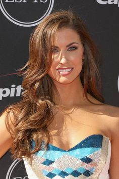 Katherine Webb's Bold Blow Out