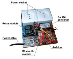 Smart power socket via Arduino, what could be easier. This power socket controll via Bluetooth, smartphone or tablet used.