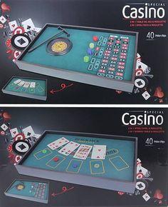Casino Roulette & Speeltafel (2-in-1)