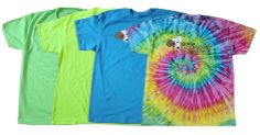 We have new 'n groovy shirts! They're available in various sizes in neon blue, green and yellow ($20) and in tie-dye ($22). All proceeds go to the dogs! Visit our website to order online. Quantities are limited, so get them while you can!