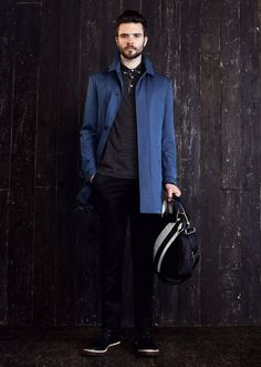 Ben Sherman Fall-Winter 2012/2013 Menswear the Rocker Style or Mod, eb #men #style