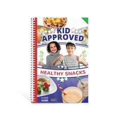 Create healthy snacks with your children! The cookbook features 30 tasty and easy-to-prepare snacks that feature fruits and vegetables that kids will love to make and eat.