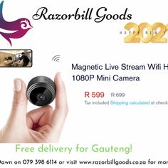 Mini Camera, Goods And Services, Happy New