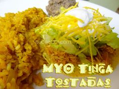 Simple Tinga Tostadas- a classic dish of shredded chicken smothered ...