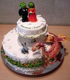Shrek&Fiona cake.